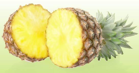 Ananas Puolikkaat